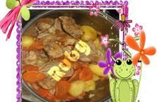Ragoût thịt heo hoặc thịt bò kiểu Pháp