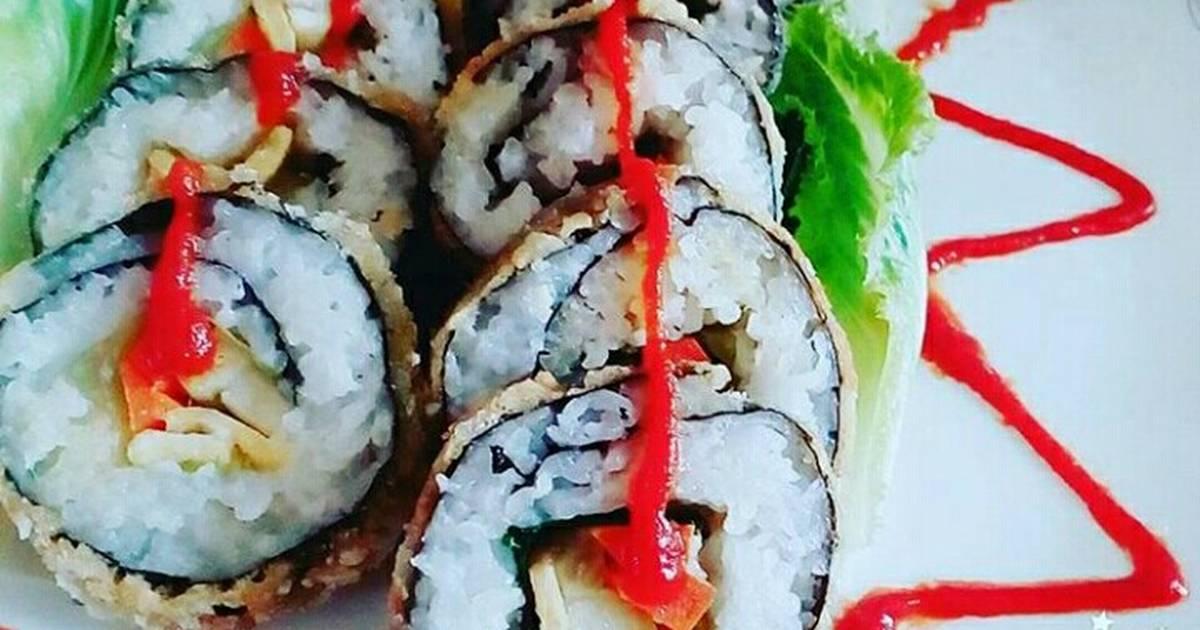 Sushi phong cách Việt Nam