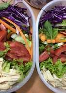 Salat gà - Cơm trưa văn phòng