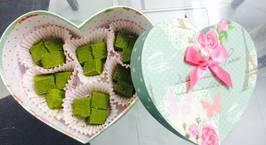 Hình ảnh món Nama chocolate vị trà xanh
