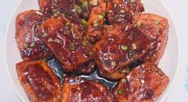 Hình ảnh món Đậu phụ nhồi thịt sốt tương cay chua ngọt ??
