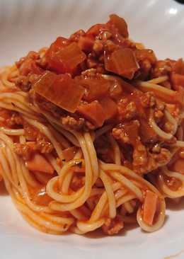 Pork & Ham Spaghetti