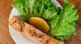 Hình ảnh món Fillet Cá hồi sốt cam