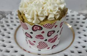 Cupcake Gato HongKong vị trà xanh vs kem bơ lòng trắng trứng