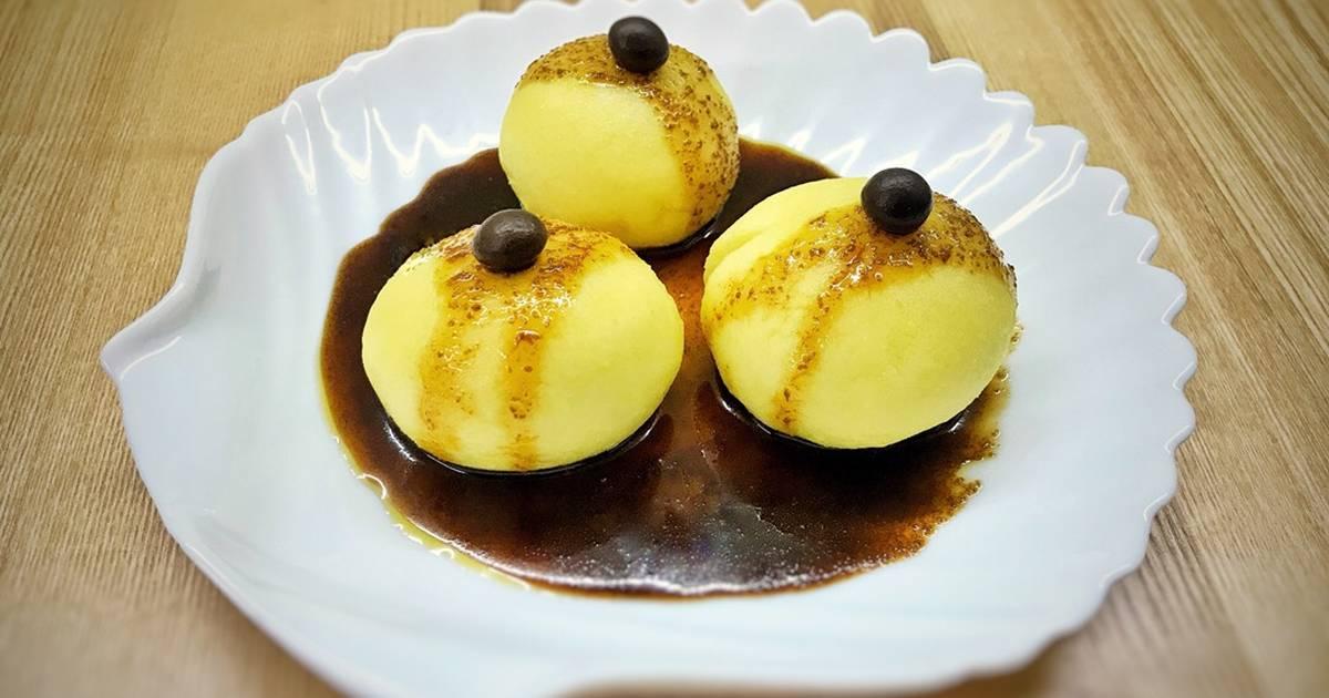 Bánh mochi khoai tây phô mai Hokkaido (phiên bản ngọt)