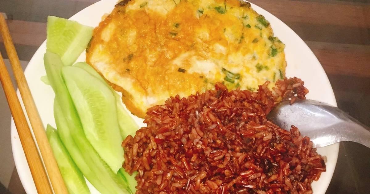Gạo lức and trứng ? Bữa ăn giảm cân đơn giản
