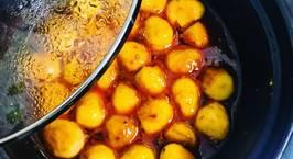 Hình ảnh món Trứng cút rim sate