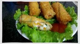 Hình ảnh món Nem hải sản mayonaise