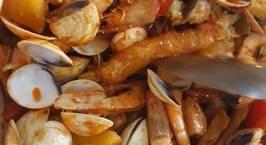 Hình ảnh món Hải sản sốt cay