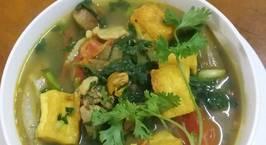 Hình ảnh món Ốc nấu chuối xanh