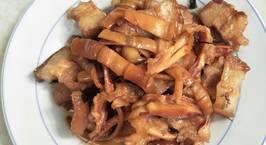 Hình ảnh món Mực khô rim thịt ba chỉ!