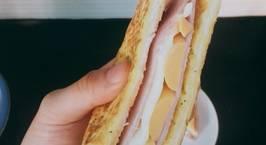 Hình ảnh món Sandwich ham & cheese