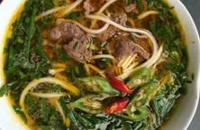 Cháo canh thịt bò đậm đà hương vị Miền Trung