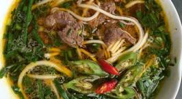 Hình ảnh món Cháo canh thịt bò đậm đà hương vị Miền Trung