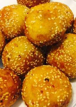 Bánh khoai lang nhân đậu