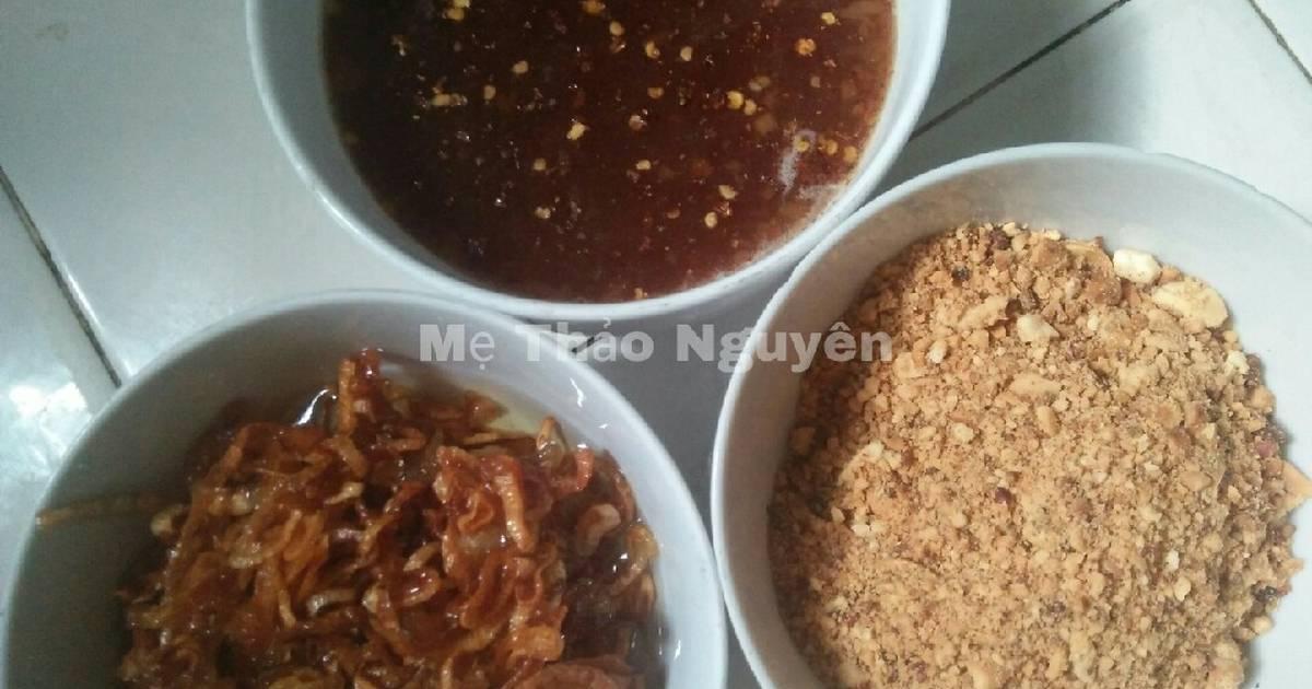 Nước Mắm Me + Bánh Tráng Tây Ninh