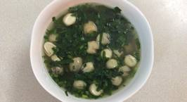 Hình ảnh món Canh rau lang nấu nấm rơm
