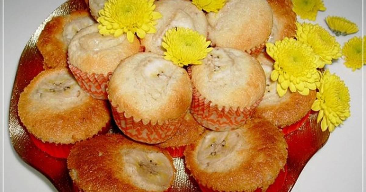 Bánh bông lan chuối (Banana cupcake)