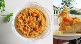 Hình ảnh món Bông lan trứng muối và công thức cốt bánh bông lan bất bại
