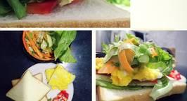 Hình ảnh món Sandwich chay (veggie sandwich)