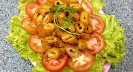 Hình ảnh món Bì căn khìa nước dừa (bì căn phá lấu)