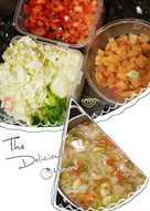 Soup rau củ giảm mỡ