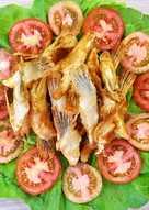 Cách chế biến món cá hồi chiên thơm ngon