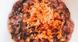 Hình ảnh món Cháo Yến Mạch rau dền + Ruốc cá hồi