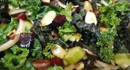 Hình ảnh món Salad cải xoăn (Kale Salad)