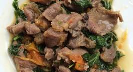 Hình ảnh món Thịt trâu xào lá lốt
