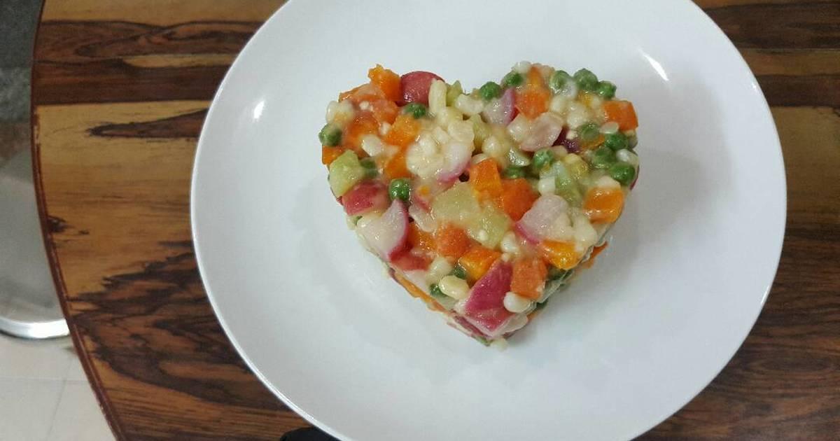 Salad Nga thuần chay