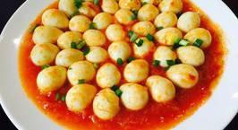 Hình ảnh món Trứng cút sốt chua ngọt