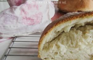 Làm bánh mì cho người làm lần đầu (bằng bột mì đa dụng theo công thức lười biếng mà bánh vẫn cực ngon)