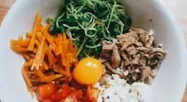 Hình ảnh món Bibimbap diet