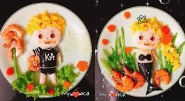 Hình ảnh món Xem video LiveCooking: Trang trí cơm cho bé yêu ngày 1/6 với bạn Qui Kim Vo