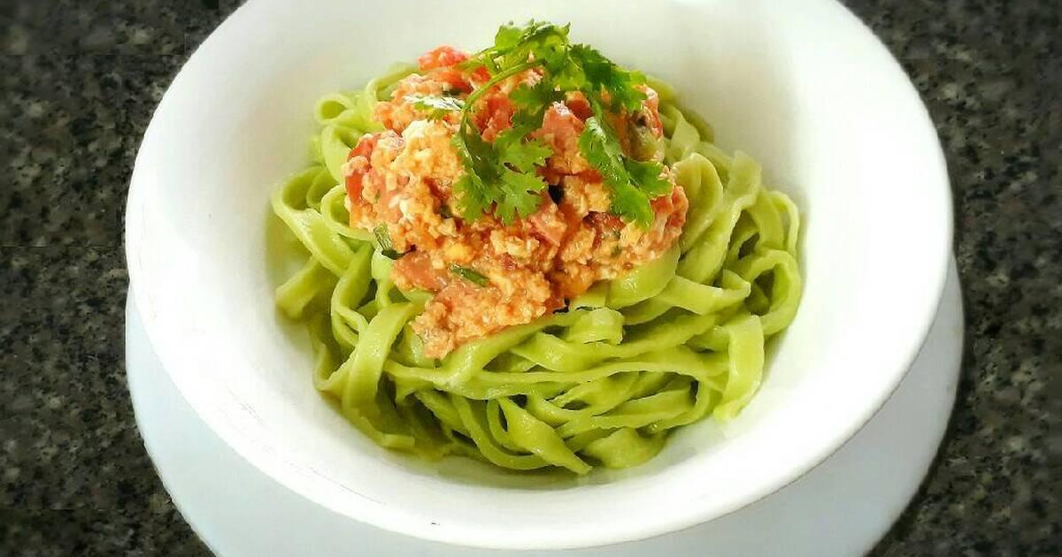 Mì trứng xanh (Green Egg noodle)