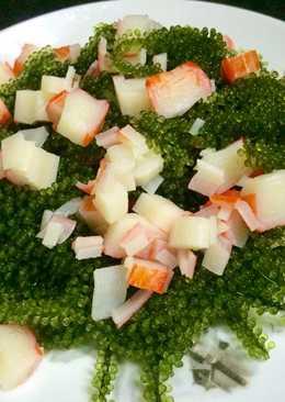 Gỏi/salad rong nho cua biển