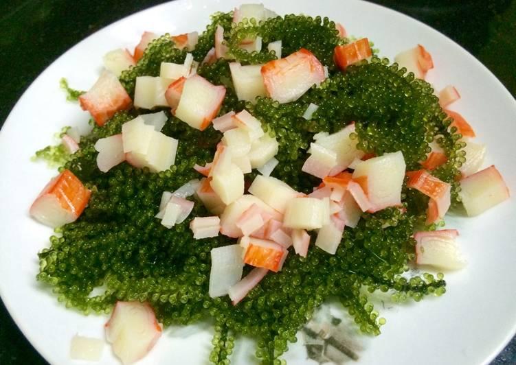 Salad rong nho cua biển