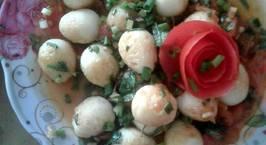 Hình ảnh món Trứng cút sốt cà chua