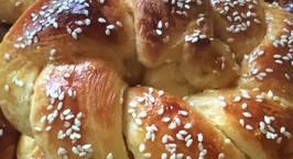 Hình ảnh món Bánh mì Brioche (hay bánh mì hoa cúc)