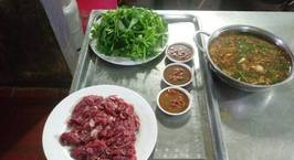 Hình ảnh món Bò nhúng mắm ruốc cay cay, Hà Hà