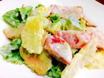 Salad bơ hoa quả ❄️🍅🍋