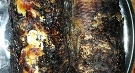 Hình ảnh món Cá lóc nướng trui quấn lá tiêu lốt