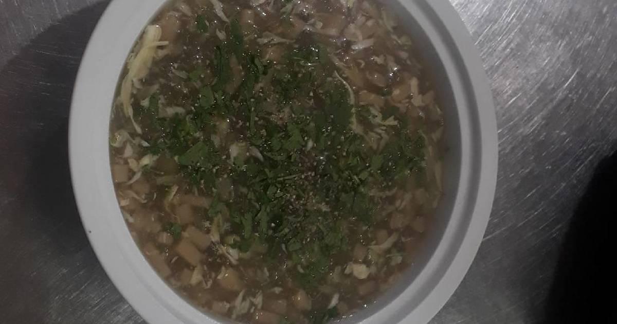 Súp cua măng tây
