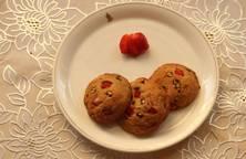 Bánh quy dâu tây sô cô la