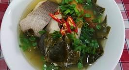 Hình ảnh món Canh chua cá lóc nấu lá giang