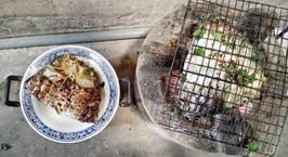 Hình ảnh món Cá nướng gập_ pa ping tộp