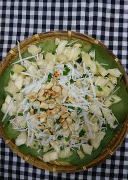 Khoai mì trộn dừa