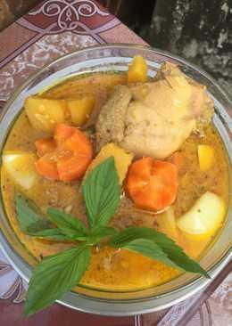 Cà ri gà🐥(nước cốt dừa +sữa tươi)