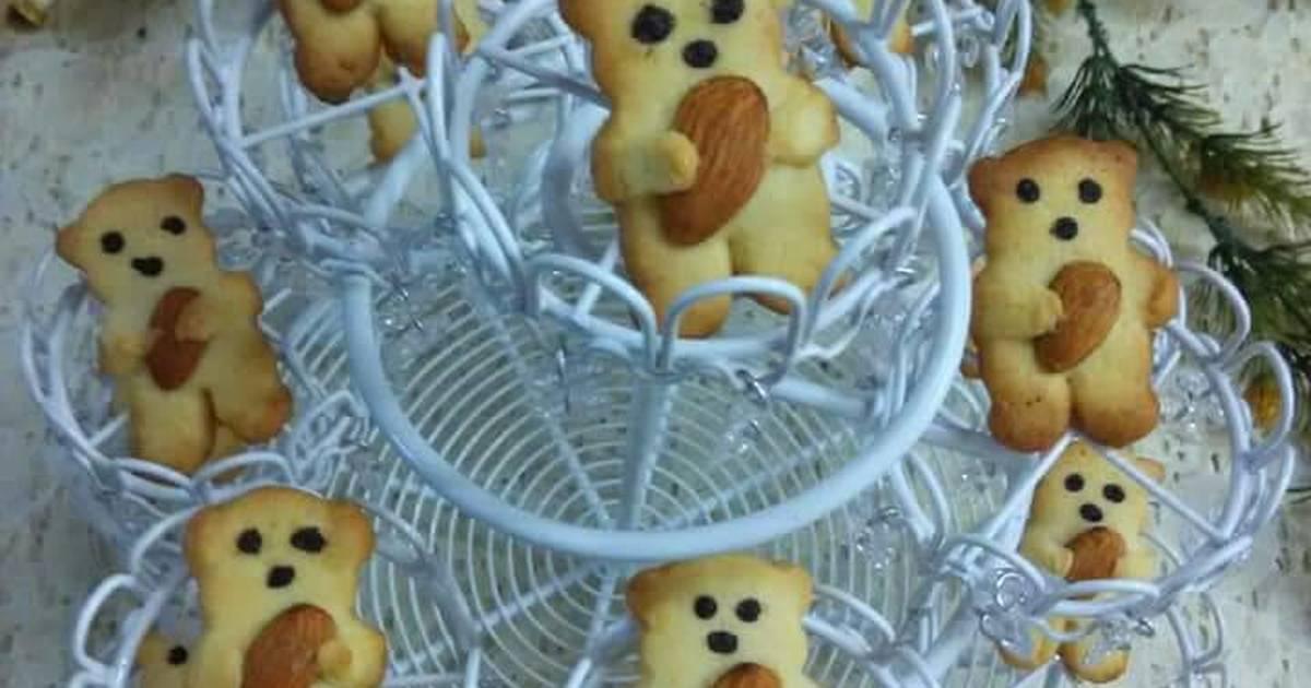 Cookie gấu ôm hạt